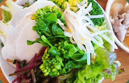 有機野菜もりもりサラダバイキング
