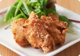 国産鶏の塩麹唐揚